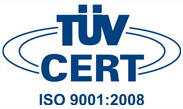 TUV ISO 9001:2008 Certifacation